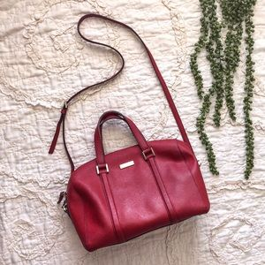 Kate Spade Red Satchel Purse